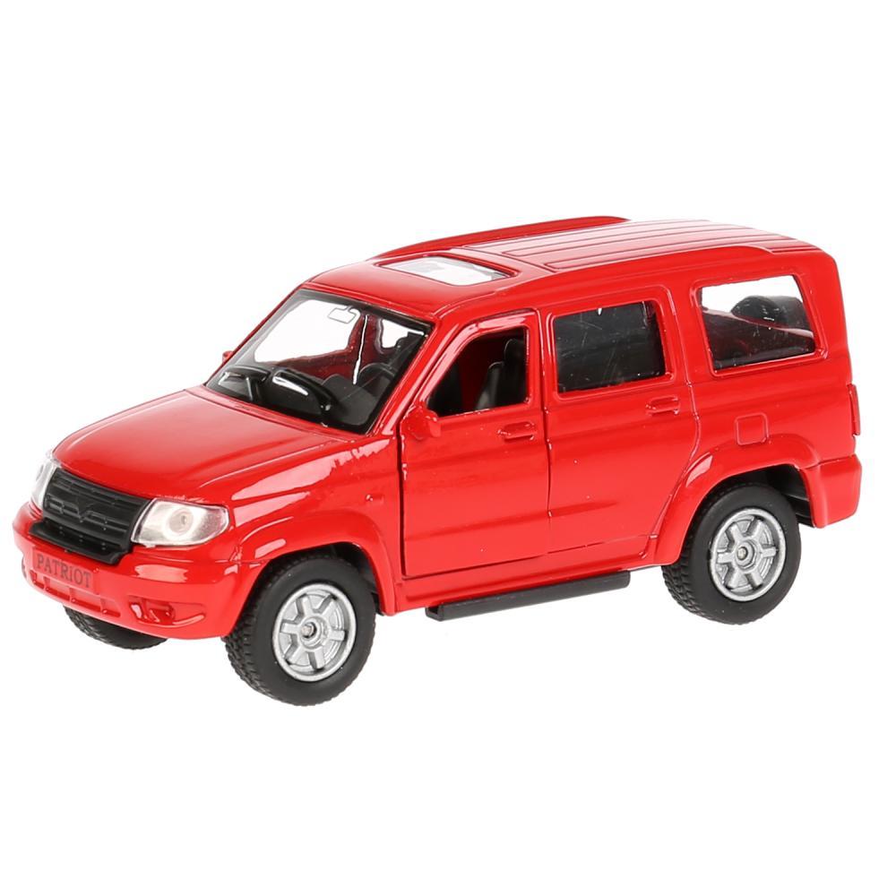Купить Инерционная металлическая машина - УАЗ Patriot, красный 12 см, открываются двери, Технопарк