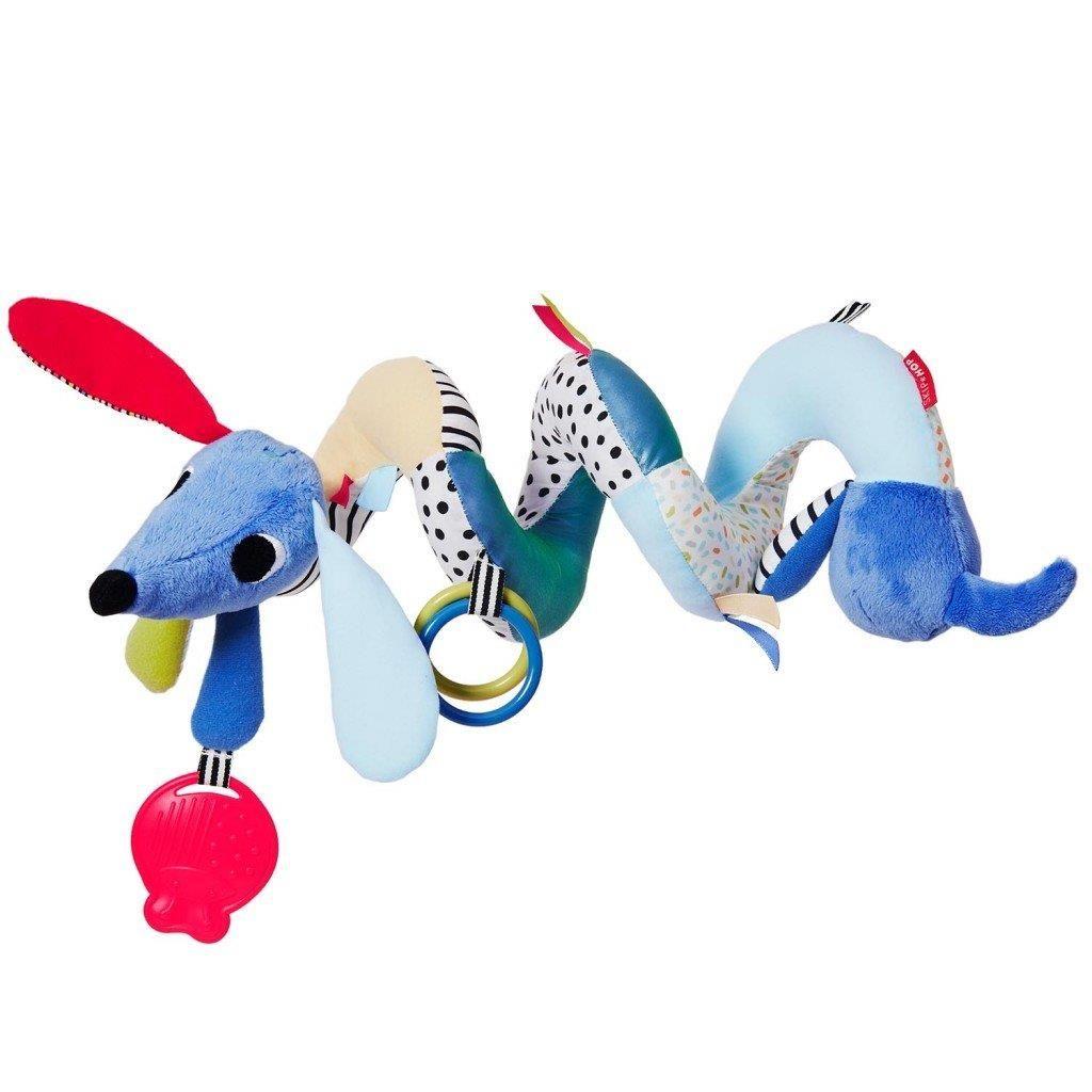 Развивающая игрушка-спираль на коляску или кроватку