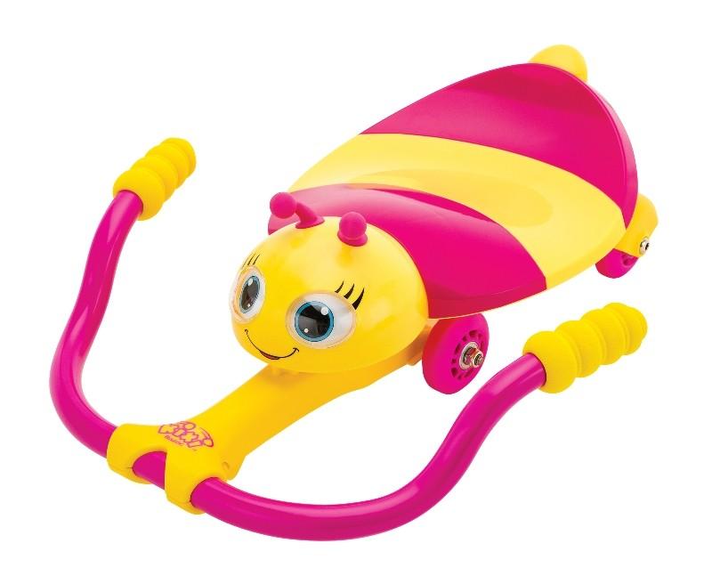 Каталка Twisti Lady Buzz с механическим управлениемМашинки-каталки для детей<br>Каталка Twisti Lady Buzz с механическим управлением<br>