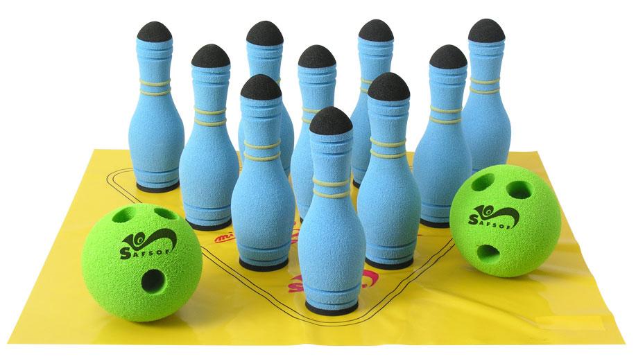 Купить Игровой набор для боулинга в сумке, SAFSOF