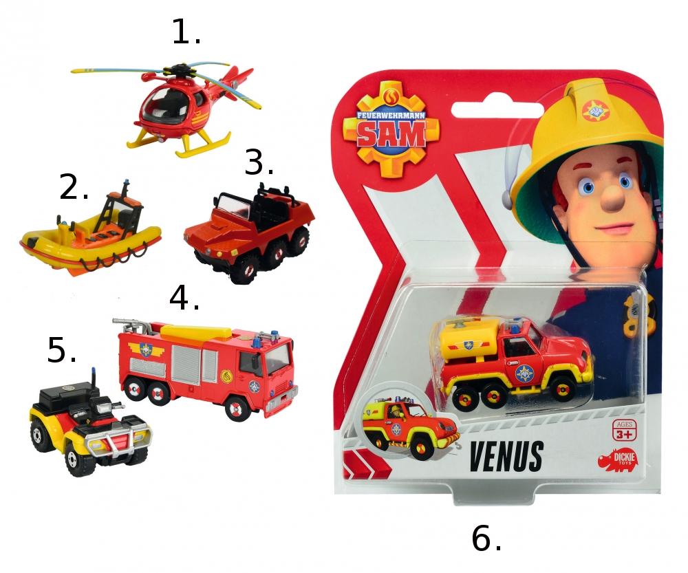 Игрушка транспортная из серии «Пожарный Сэм», масштаб 1:64Пожарный СЭМ<br>Игрушка транспортная из серии «Пожарный Сэм», масштаб 1:64<br>