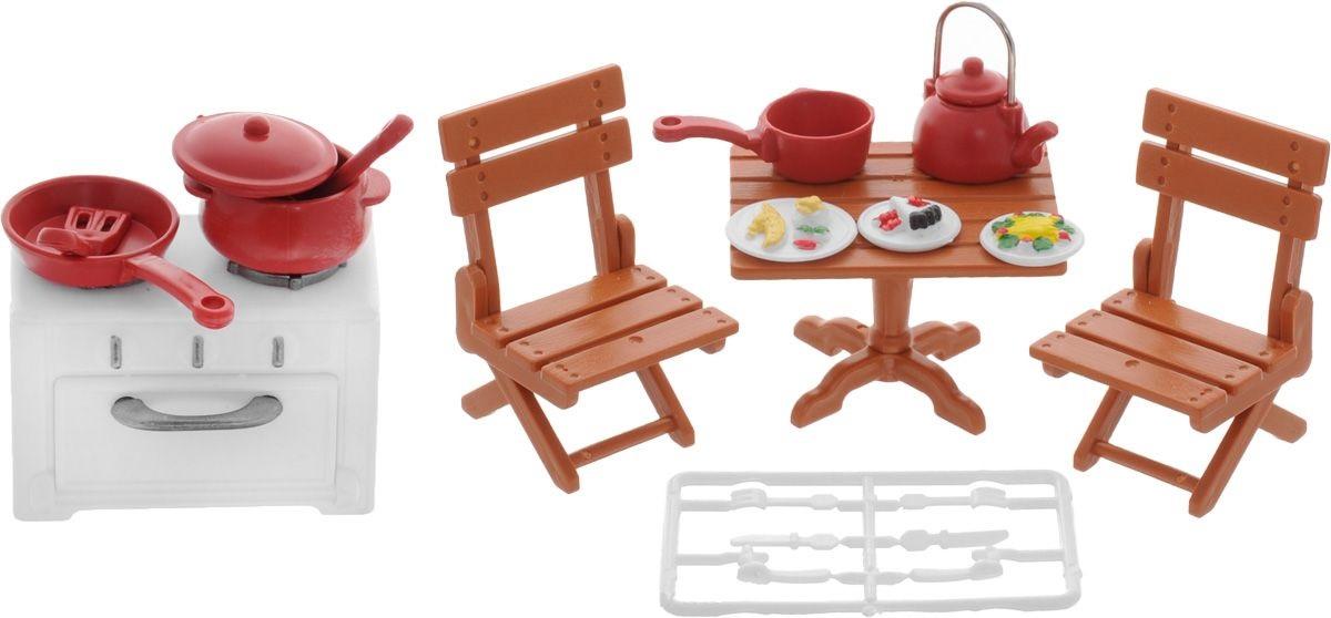 Набор мебели для гостиной из серии «Счастливые друзья», с аксессуарамиКукольные домики<br>Набор мебели для гостиной из серии «Счастливые друзья», с аксессуарами<br>