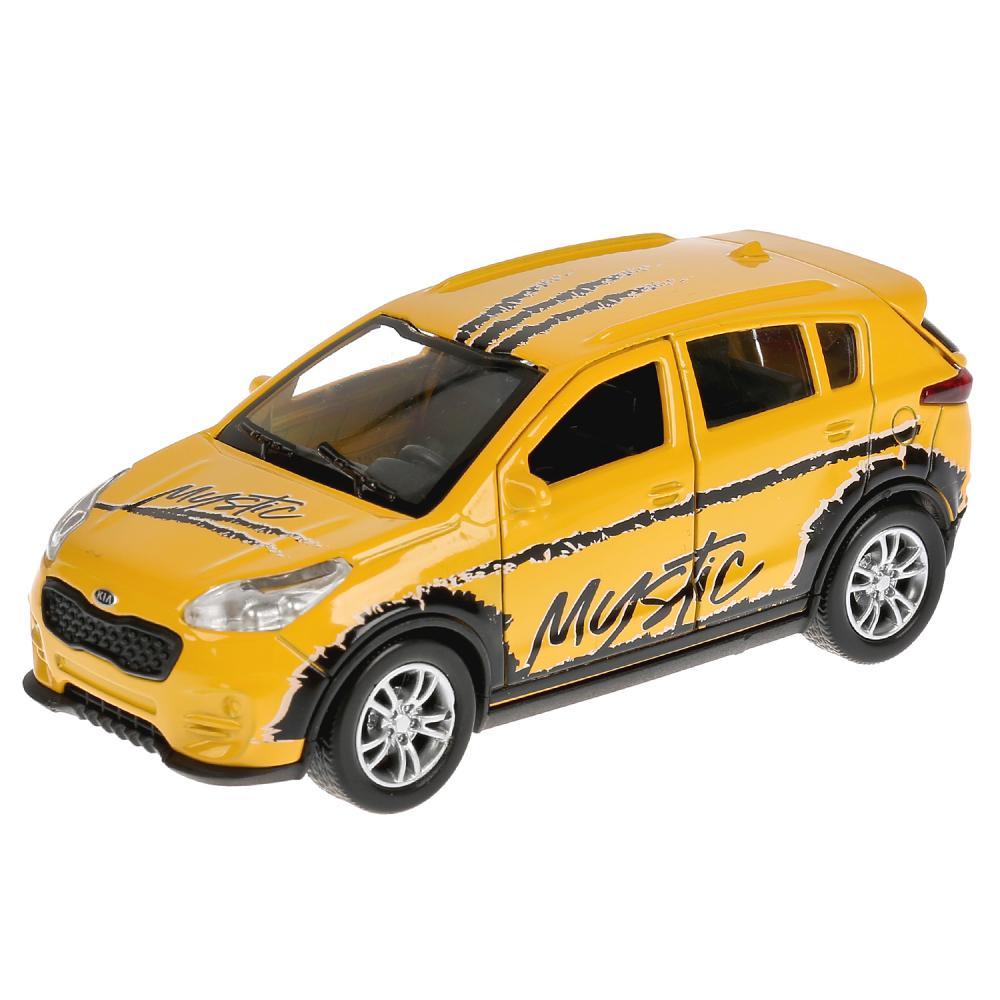 Купить Металлическая инерционная машина - Kia Sportage, 12 см, спорт, Технопарк