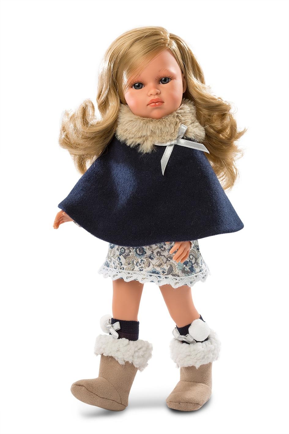 Купить Кукла Оливия в синем, 37 см, Llorens Juan