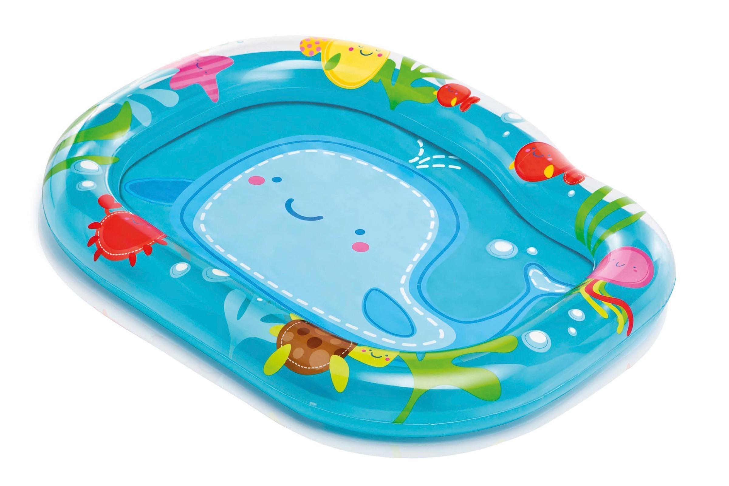 Купить Бассейн детский «Маленький кит», Intex