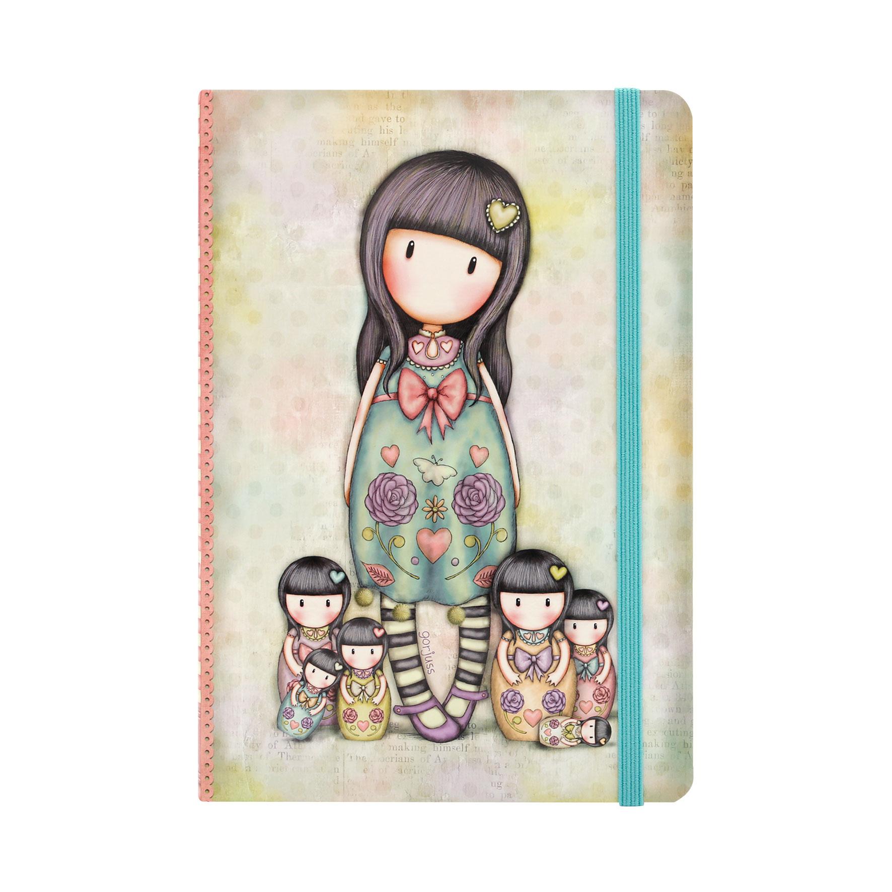 Блокнот в твердой обложке - Seven Sisters из серии GorjussGorjuss Santoro London<br>Блокнот в твердой обложке - Seven Sisters из серии Gorjuss<br>