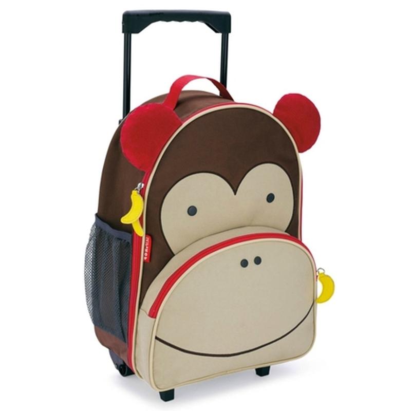 Чемодан детский  Обезьяна - Чемоданы для путешествий, артикул: 150233