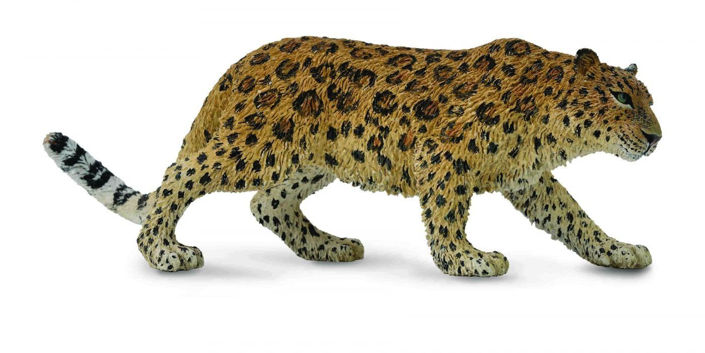 Фигурка Gulliver Collecta - Амурский леопард, XLДикая природа (Wildlife)<br>Фигурка Gulliver Collecta - Амурский леопард, XL<br>