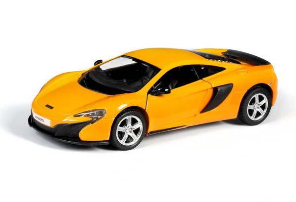 Купить Металлическая инерционная машина - McLaren 650S, 1:32, желтый, RMZ City
