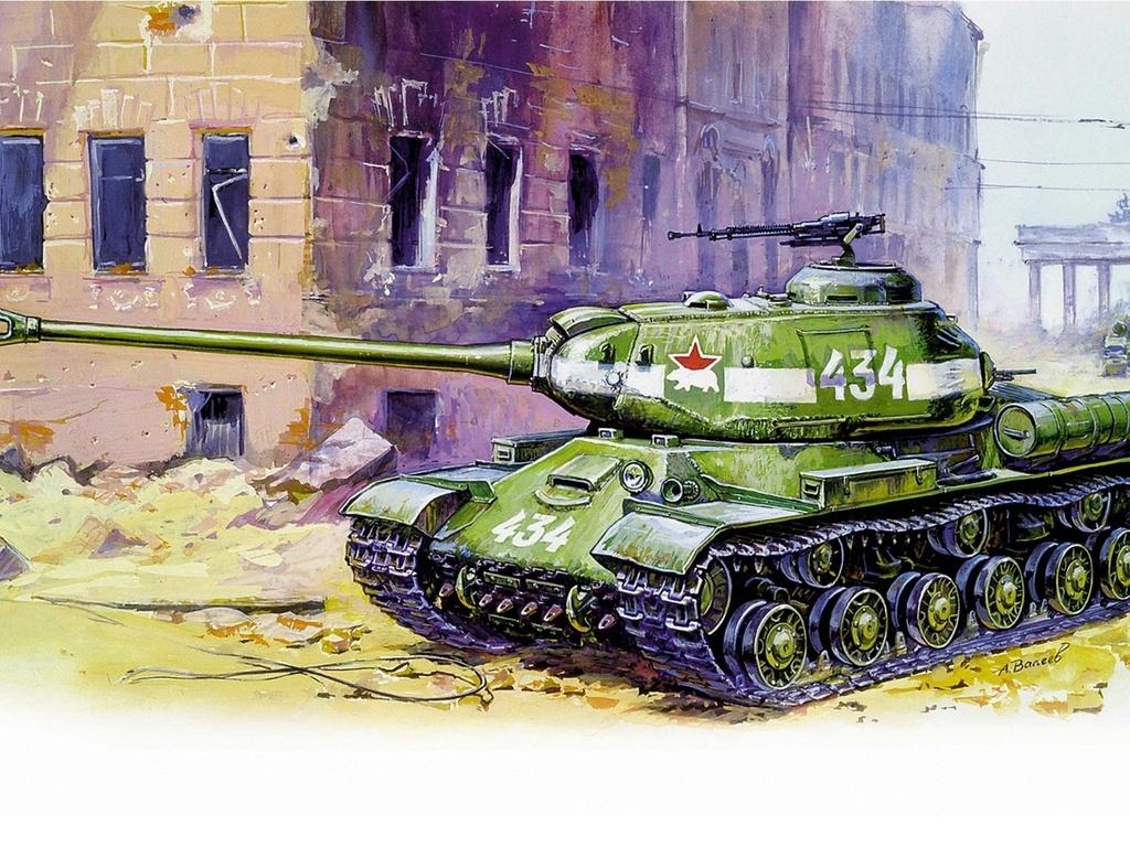 Звезда Подарочный набор - Модель для склеивания - Советский танк Ис-2