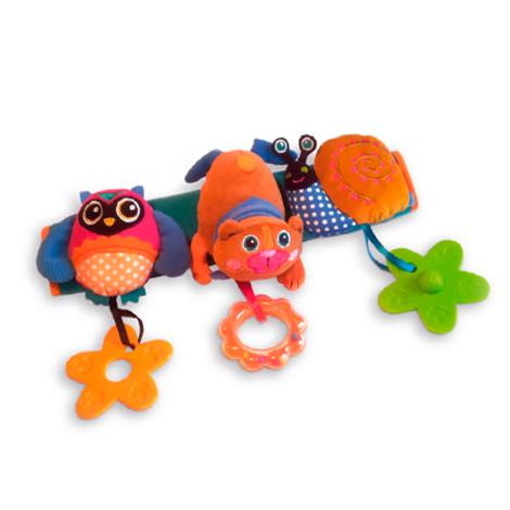 Игрушка развивающая Подвеска на коляску ЛесДетские погремушки и подвесные игрушки на кроватку<br>Игрушка развивающая Подвеска на коляску Лес<br>