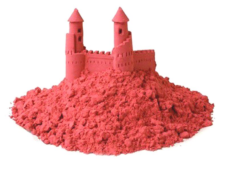 Домашняя песочница. Красный песокКинетический песок<br>Домашняя песочница. Красный песок<br>