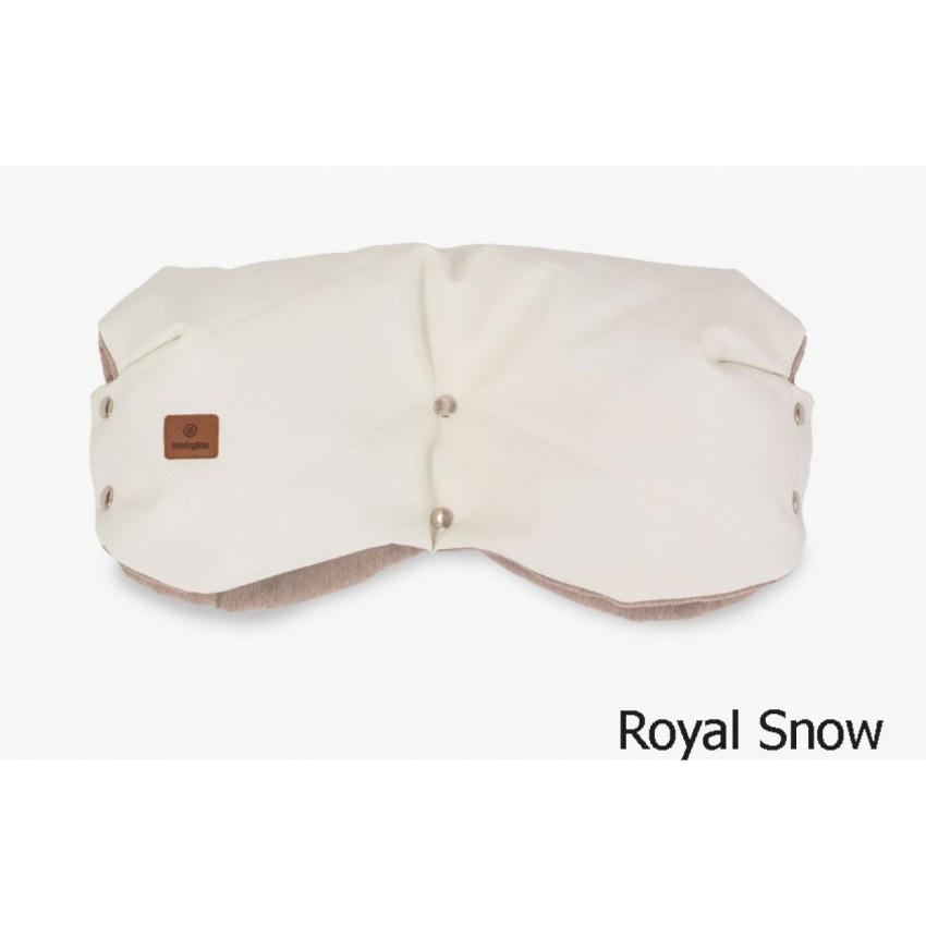 Муфта для рук на коляску, цвет – royal snow, Navington  - купить со скидкой