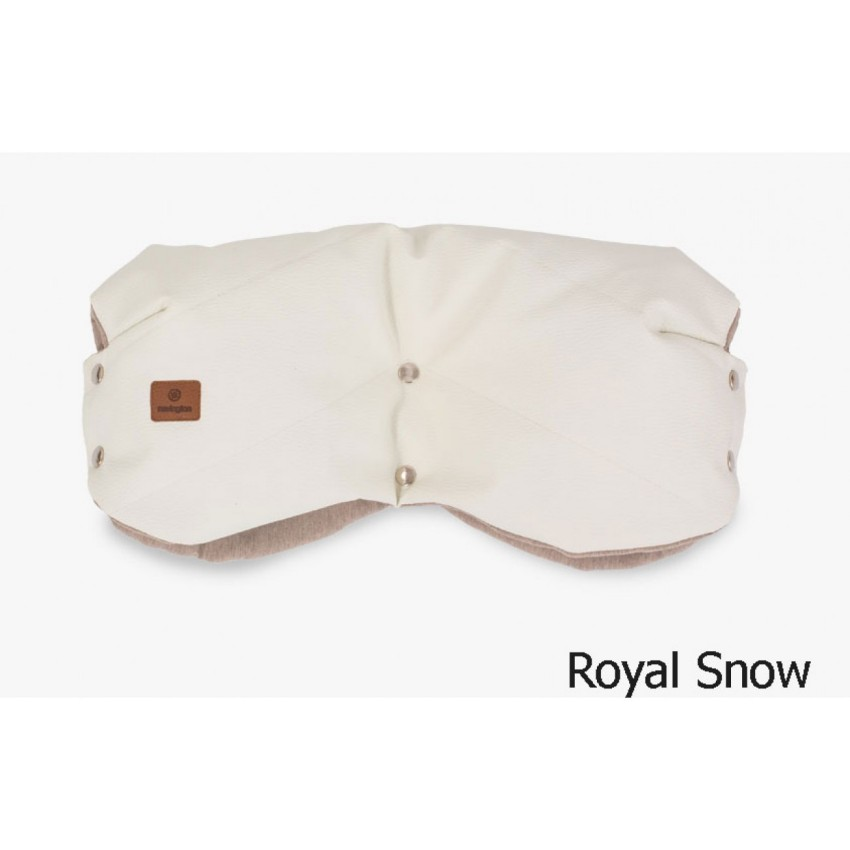 Купить Муфта для рук на коляску, цвет – royal snow, Navington