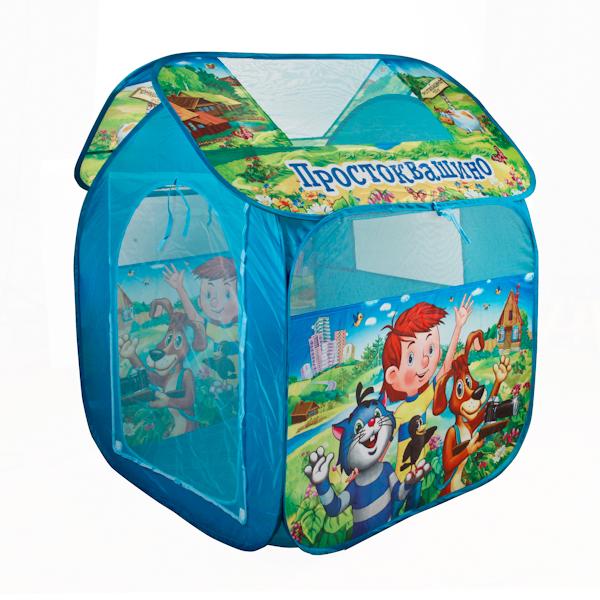 Детская игровая палатка ПростоквашиноДомики-палатки<br>Детская игровая палатка Простоквашино<br>