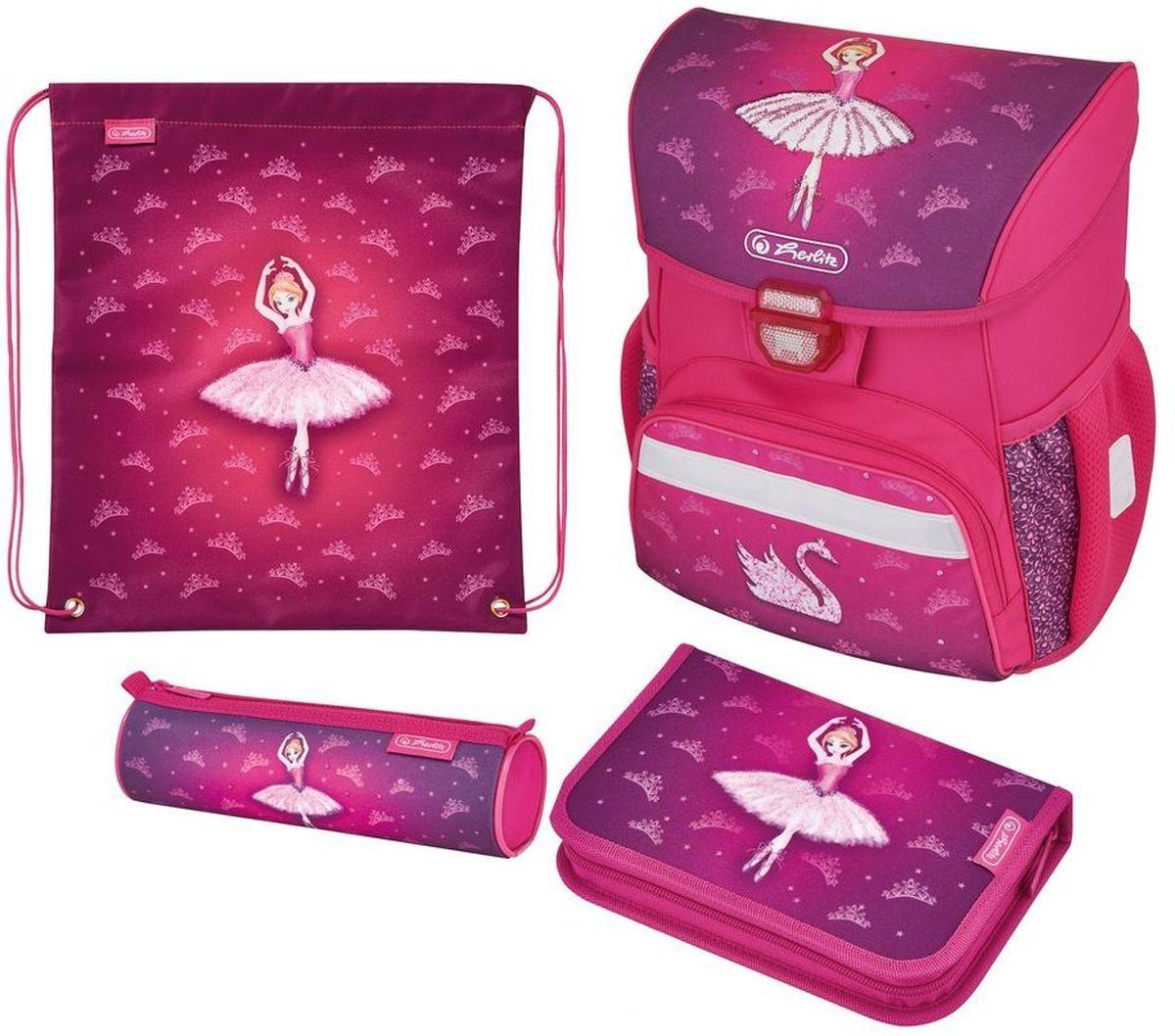 Ранец Loop Plus - Ballerina, с наполнениемШкольные рюкзаки<br>Ранец Loop Plus - Ballerina, с наполнением<br>