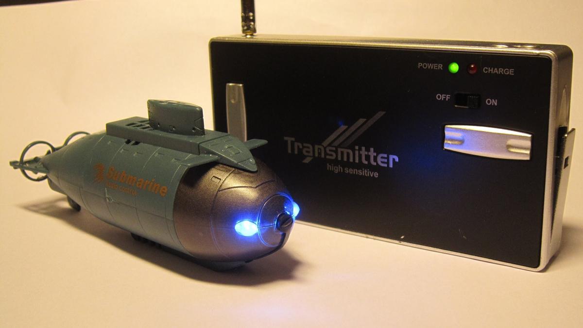 как сделать подводную лодку на радиоуправлении