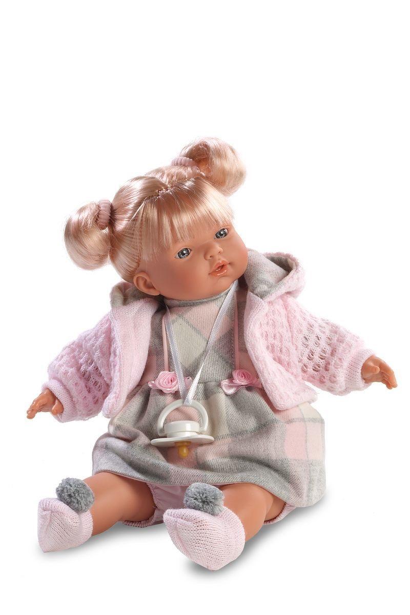 Кукла Аитана 33 см., со звукомИспанские куклы Llorens Juan, S.L.<br>Кукла Аитана 33 см., со звуком<br>