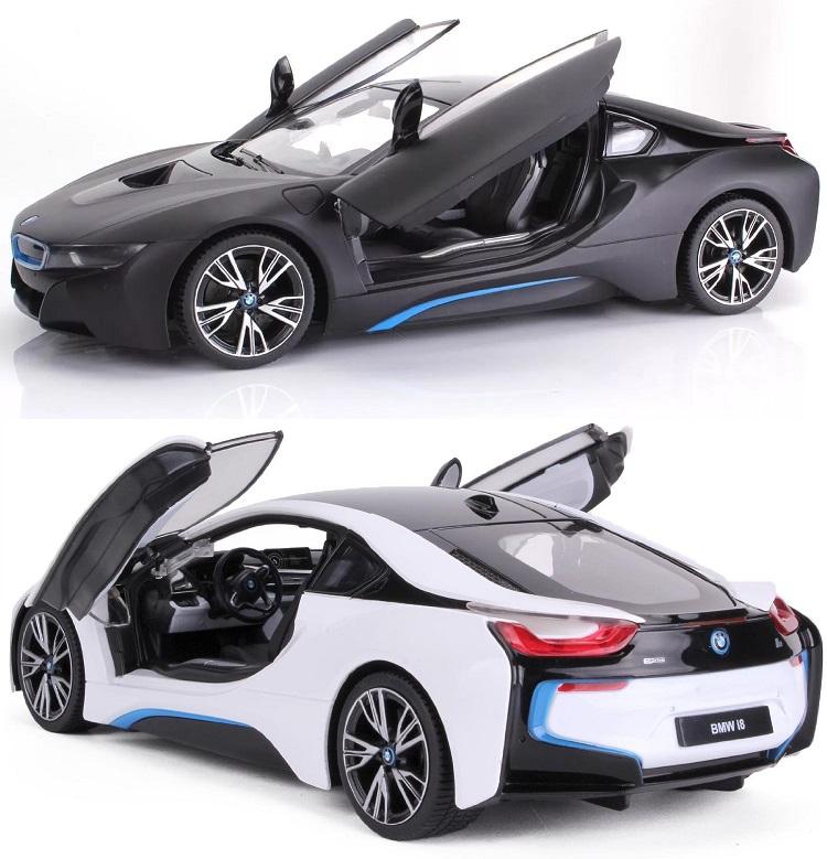 Купить Радиоуправляемая машина BMW i8 с дистанционно открывающимися дверьми, Rastar