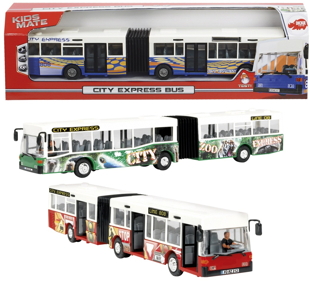 Городской автобус-экспресс, 40 см.Автобусы, трамваи<br>Городской автобус-экспресс, 40 см.<br>