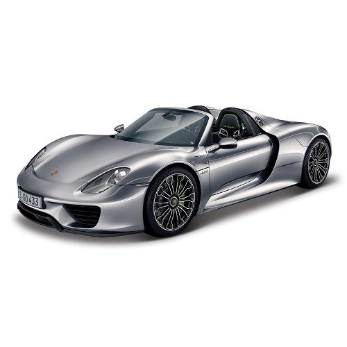 Машина Porsche 918 Spyder, 1:24, металлическаяPorsche<br>Машина Porsche 918 Spyder, 1:24, металлическая<br>