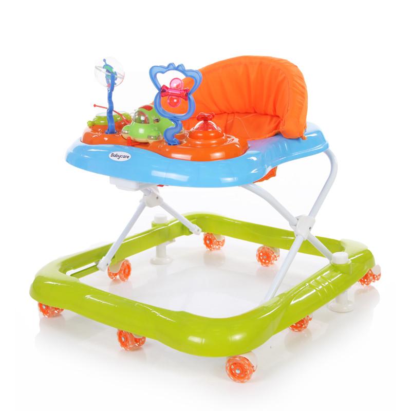 Купить Ходунки - Mario, белый/зеленый, Baby Care