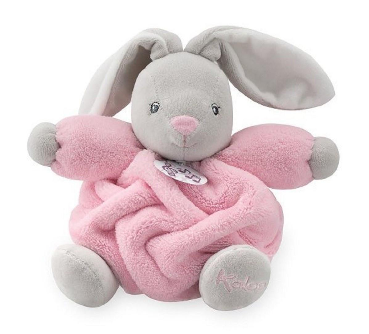 Купить Музыкальная игрушка Плюм – розовый заяц. 18 см, Kaloo