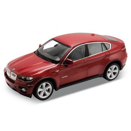 Коллекционная машинка BMW X6, масштаб 1:24