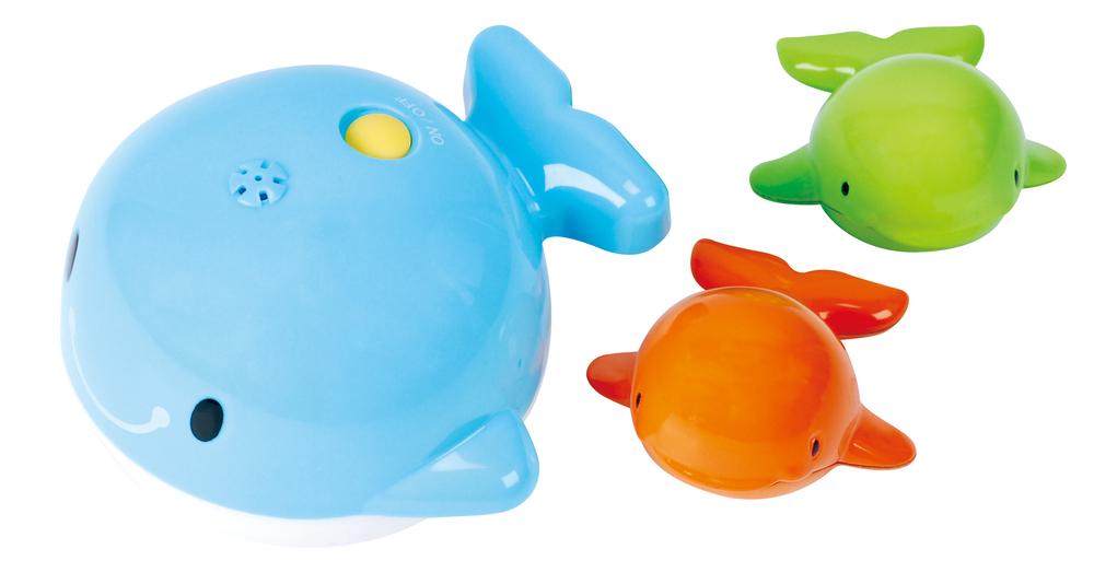 Детский набор для игр в ванной - КитыИгрушки для ванной<br>Детский набор для игр в ванной - Киты<br>