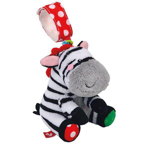 Погремушка-растяжка ЗебраДетские погремушки и подвесные игрушки на кроватку<br>Погремушка-растяжка Зебра<br>