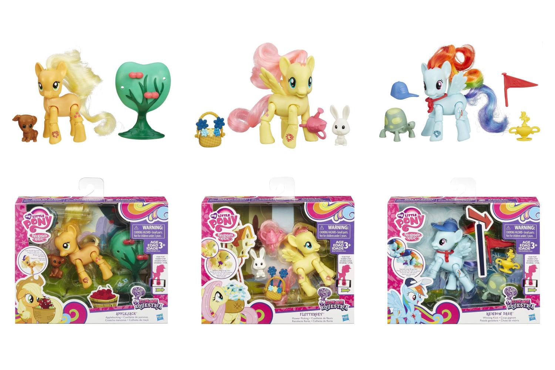 Мини-набор Пони с артикуляцией My Little Pony - ФлаттершайМоя маленькая пони (My Little Pony)<br>Мини-набор Пони с артикуляцией My Little Pony - Флаттершай<br>