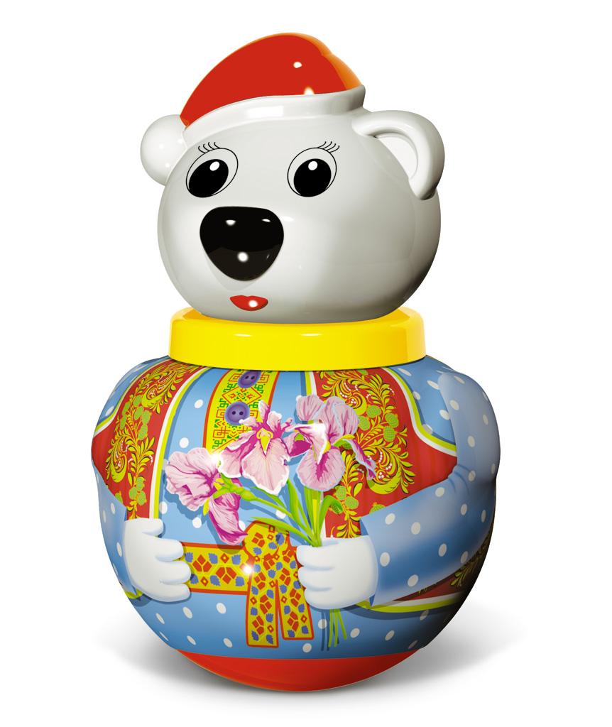 Неваляшка малая - Белый медведь Тёма, в пакете