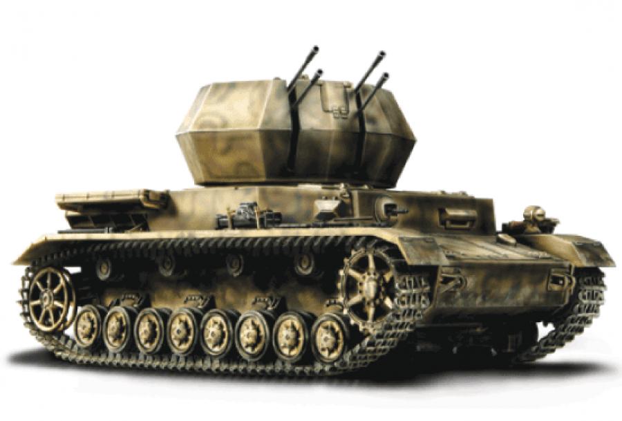 Коллекционная модель - зенитная установка Вихрь IV, 1944 года, Германия, 1:32Военная техника<br>Коллекционная модель - зенитная установка Вихрь IV, 1944 года, Германия, 1:32<br>