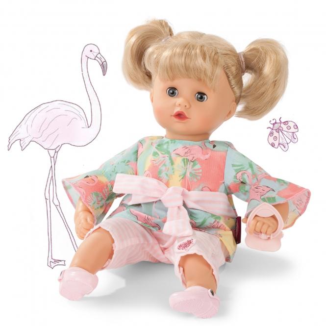 Купить Кукла Маффин блондинка в кофточке с фламинго, 33 см., Gotz