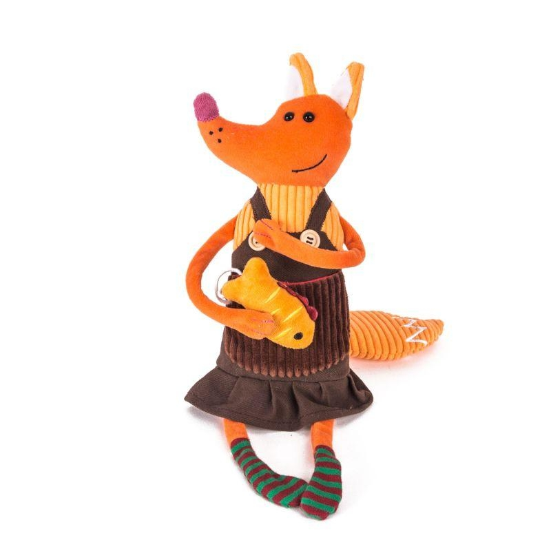 Купить Мягкая игрушка - Лисица Елизавета, 21 см., Gulliver