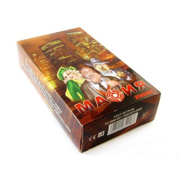 Игра карточная - Мафия люкс, большая коробкаИгры для компаний<br>Игра карточная - Мафия люкс, большая коробка<br>