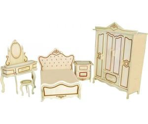 Модель деревянная сборная - Мебель для куклыПазлы объёмные 3D<br>Модель деревянная сборная - Мебель для куклы<br>