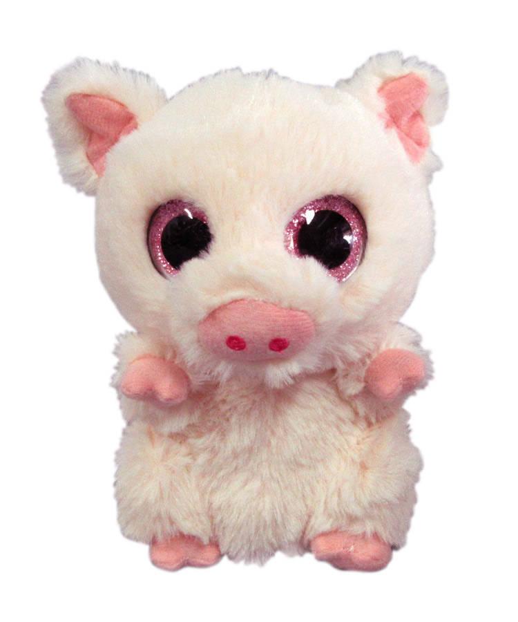 Купить Свинка светло-розовая, 15 см, Yangzhou Kingstone Toys Co.Ltd