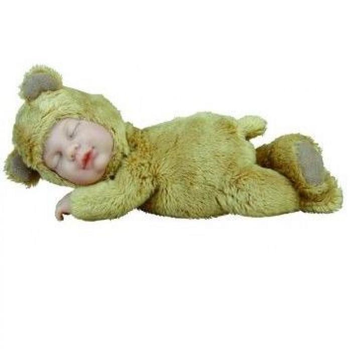 Кукла из серии - Детки - мишки карамельные, 23 смКуклы детки ANNE GEDDES<br>Кукла из серии - Детки - мишки карамельные, 23 см<br>