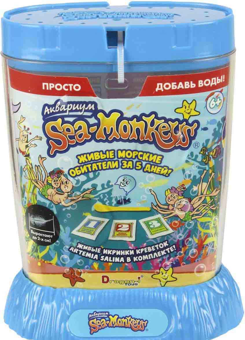 Купить Аквариум Sea-Monkeys для выращивания ракообразных вида Artemia Salina, 1TOY