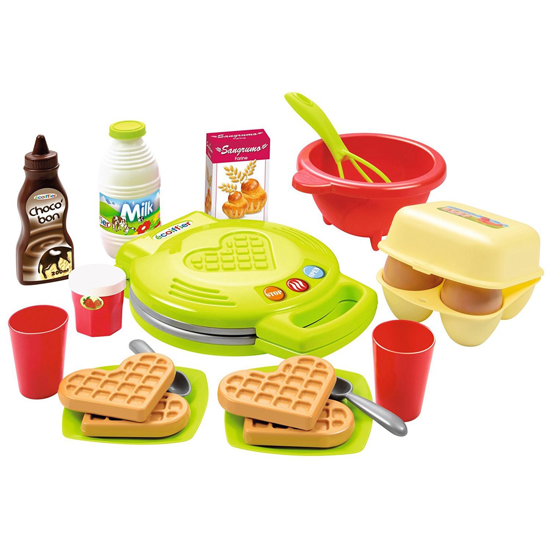 Игровой набор - Вафельница, 22 предметаАксессуары и техника для детской кухни<br>Игровой набор - Вафельница, 22 предмета<br>