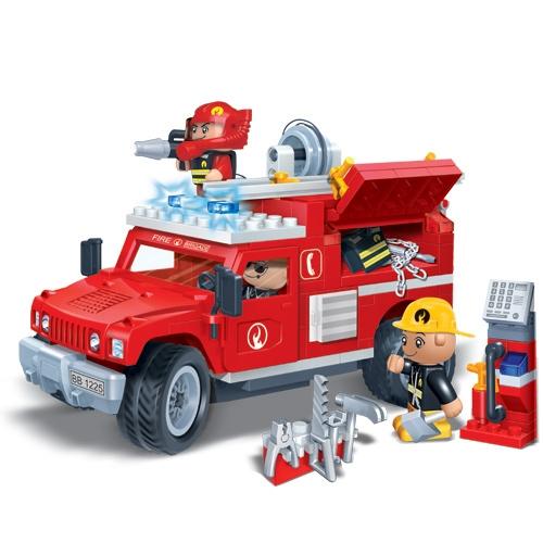 Конструктор с аксессуарами - Пожарная машинаКонструкторы BANBAO<br>Конструктор с аксессуарами - Пожарная машина<br>