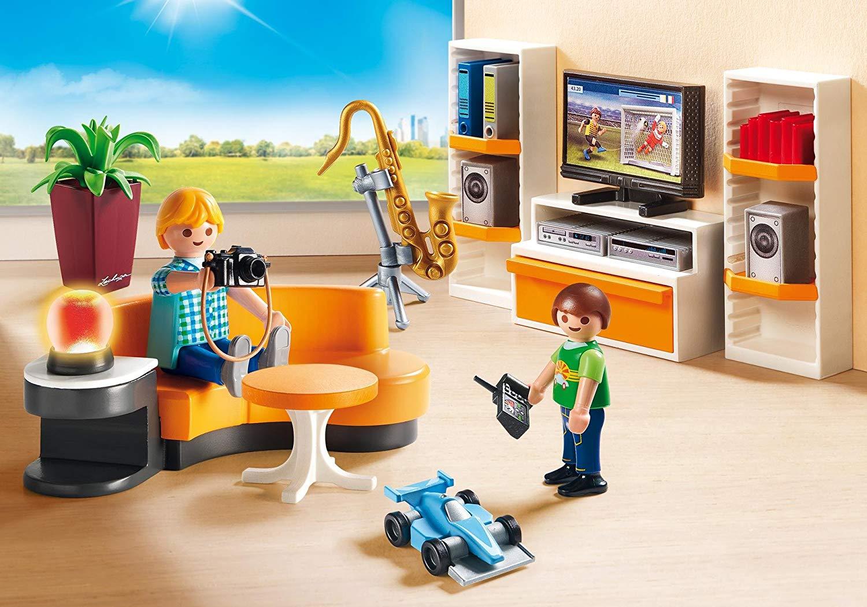 Купить Игровой набор из серии Кукольный дом: Жилая комната, Playmobil