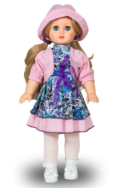 Кукла - Марта Незабудка 4 со звуком, 40 смРусские куклы фабрики Весна<br>Кукла - Марта Незабудка 4 со звуком, 40 см<br>