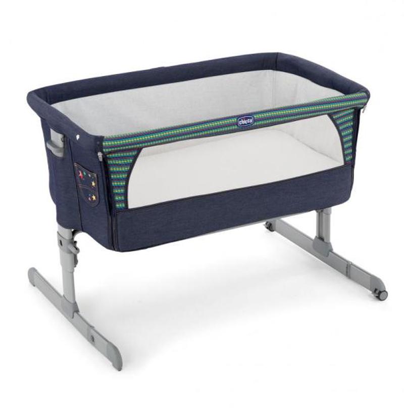 Кроватка детская Next2me DenimЛюльки<br>Кроватка детская Next2me Denim<br>