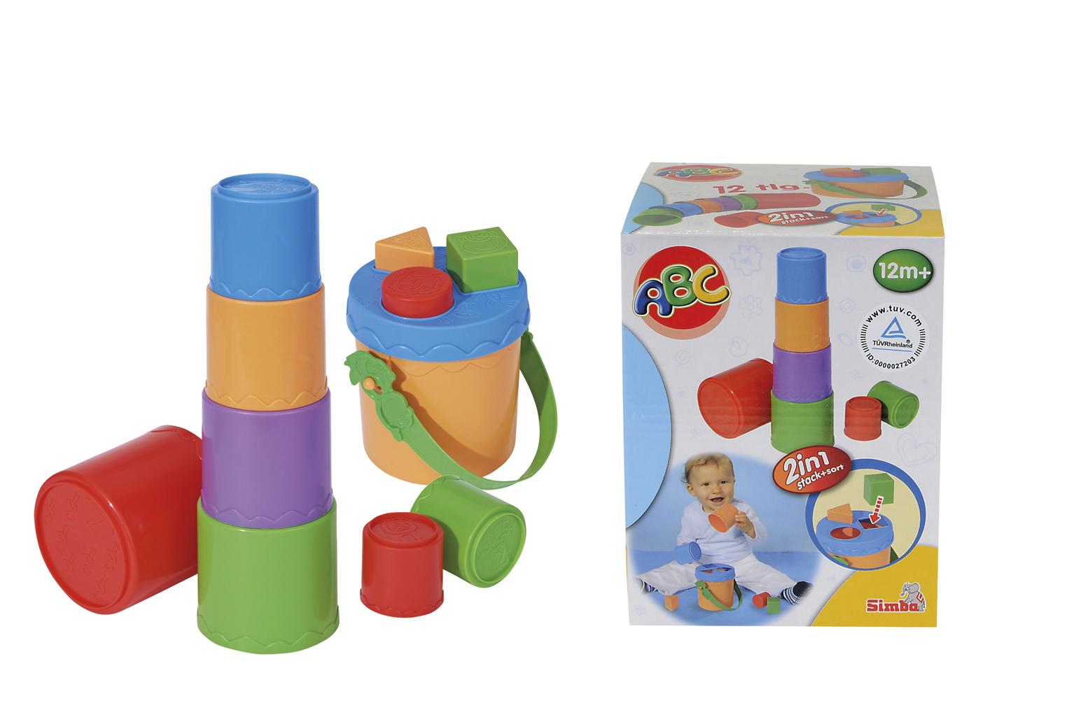Купить Развивающая игрушка Пирамидка-сортер, Simba