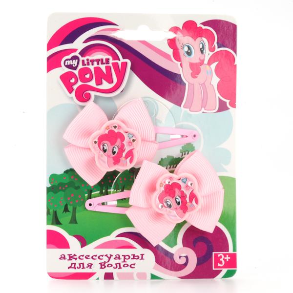 Набор из 2 заколок для волос «Моя маленькая пони»Юная модница, салон красоты<br>Набор из 2 заколок для волос «Моя маленькая пони»<br>
