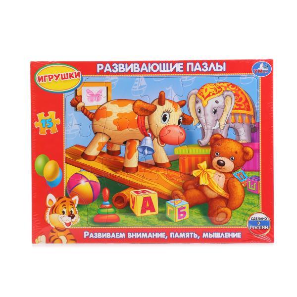 Развивающие пазлы в рамке – ИгрушкиПазлы для малышей<br>Развивающие пазлы в рамке – Игрушки<br>
