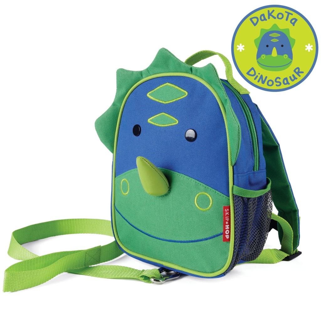 Рюкзак детский с поводком ДинозаврДетские рюкзаки<br>Рюкзак детский с поводком Динозавр<br>