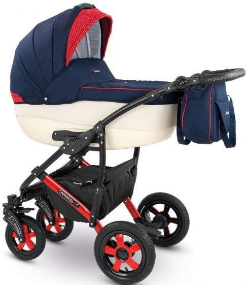 Детская коляска Camarelo Carera 2 в 1, цвет XCA_1Детские коляски 2 в 1<br>Детская коляска Camarelo Carera 2 в 1, цвет XCA_1<br>